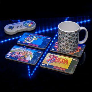 Nintendo SNES Coasters