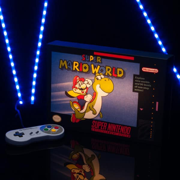 Nintendo Super Mario World Luminart