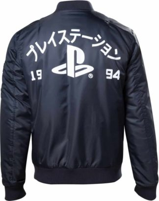 Playstation – Blue Jacket with print at back1