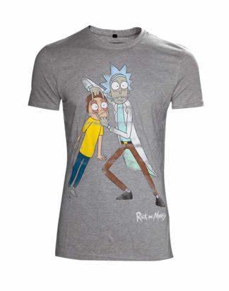 Rick & Morty – Disstressed men's t-shirt