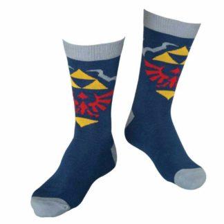 Zelda – Crew Socks, Hylian Crest
