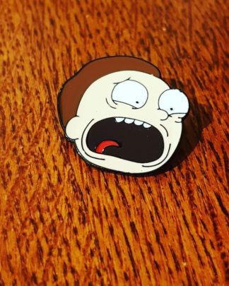 Rick and Morty Pin Morty