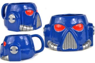 Warhammer Shaped Mug Space Marine