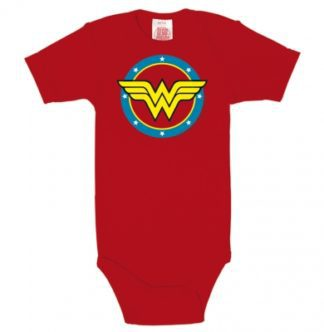 DC – Wonder Woman – Stars – Romper – red
