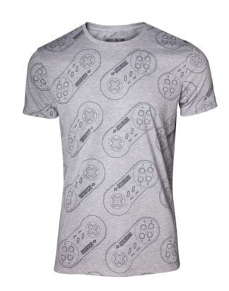 Nintendo – All Over SNES Controller T-shirt