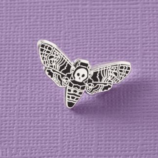 Death Head Moth Enamel Pin