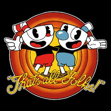 Cuphead That's all folks! Unisex T-shirt
