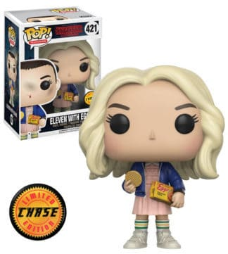 Funko POP! Stranger Things TV Vinyl Figures Eleven With Eggos 9 cm CHASE