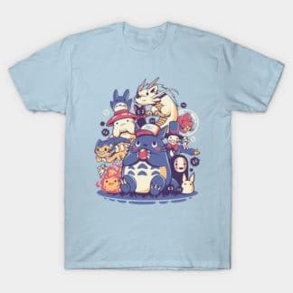 Studio Ghibli Creatures Spirits and friends Women T-shirt