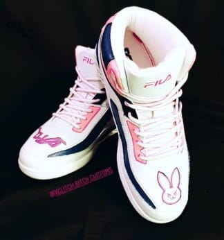 8c189094bf0 Custom Overwatch D.Va Fila Sneakers Maat 42.5 -One of a kind!-