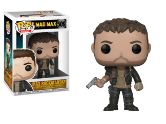 Funko Pop! Movies Mad Max Fury Road Max with Gun