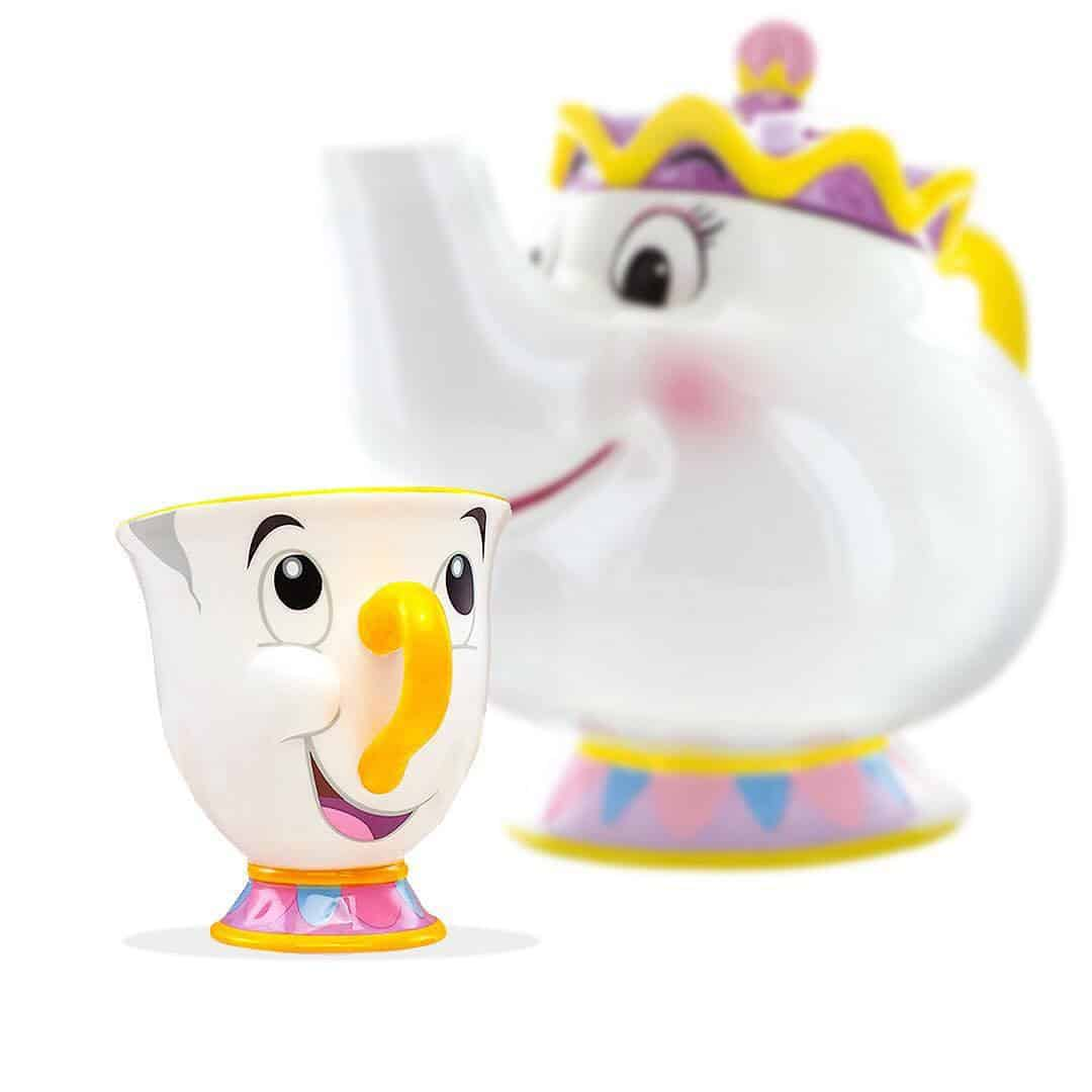 Disney Toy Box Beauty And The Beast Mrs Potts Tea Pot
