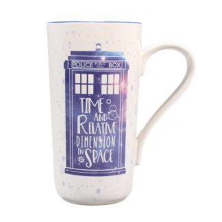 Doctor Who Latte-Macchiato Mug Galaxy