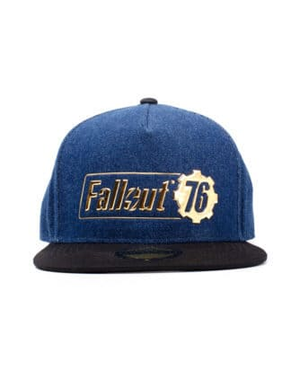 Fallout – Fallout 76 Logo Badge Snapback
