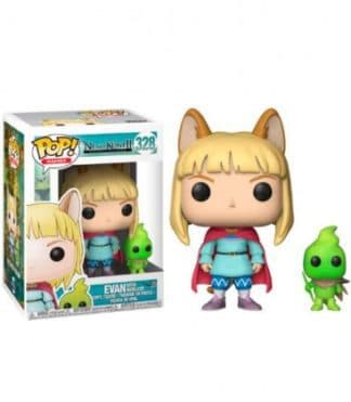 Funko POP! Ni no Kuni II Revenant Kingdom Games Vinyl Figure Evan & Higgledy 9 cm