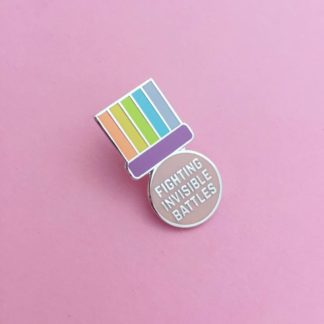 HOYFC Fighting Invisible Battles Pin