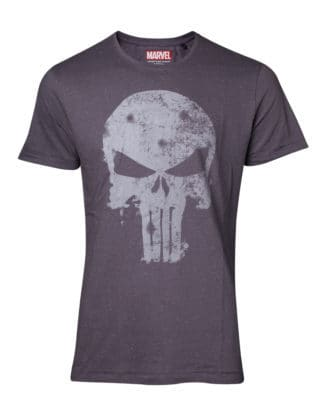 Punisher – Faded Logo Vintage Men's T-shirt