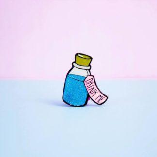 Enamel Pins Style Drink Me