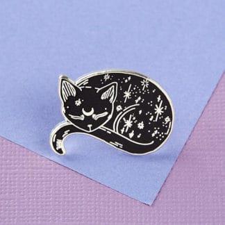 Mystical Cat Enamel Pin