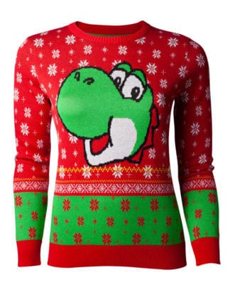 Nintendo – Super Mario Yoshi Knitted Christmas Sweater