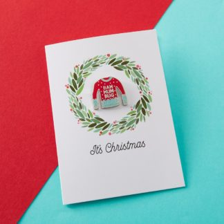 Oh Fuck it's Christmas Greetings Card – Bah Humbug