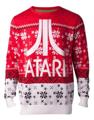 Pre-order only! Atari – Atari Logo Knitted Christmas Sweater