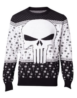 Pre-order only! Marvel – Punisher Knitted Christmas Sweater