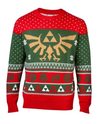 The Legend of Zelda – In Hyrule Knitted Christmas Sweater