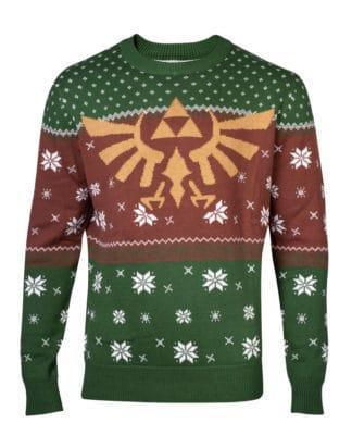 Zelda – Golden Hyrule Knitted Christmas Sweater