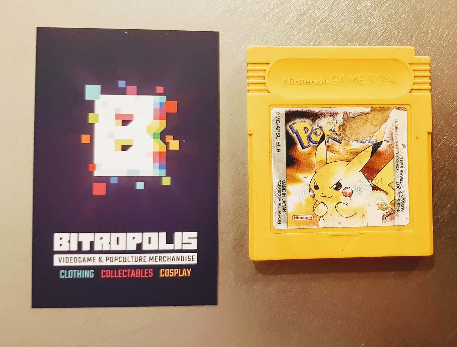 ef804e03 Game Boy Pokémon Yellow — Bitropolis Utrecht Nederland