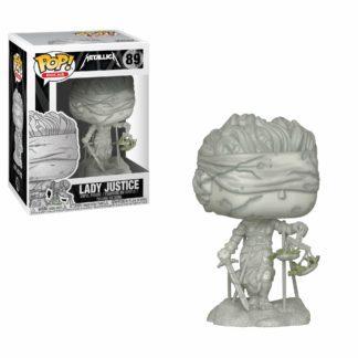 Funko POP! Metallica Lady Justice Vinyl Figure 10cm