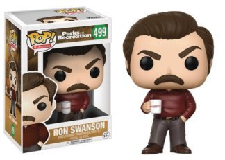 Funko POP! Television Parks and Recreation – Ron Swanson Vinyl Figure 10cm