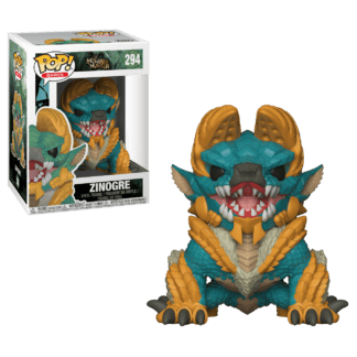 Funko Pop! Games Monster Hunters Zinogre