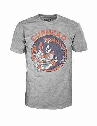 Funko Tees – Cuphead Mugman Devil