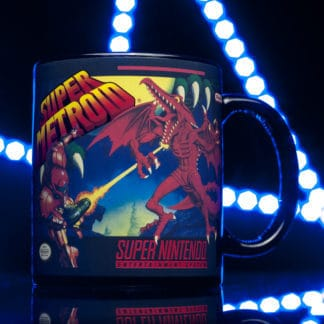 Nintendo Super Metroid Heat Change Mug s