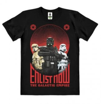 Star Wars – Rogue One – Enlist Now – T-Shirt Easy Fit Organic
