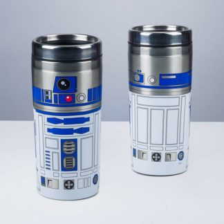 Star Wars The Last Jedi R2-D2 Character Travel Mugs