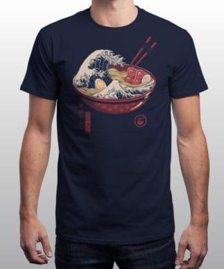 T-shirt Great Ramen Wave