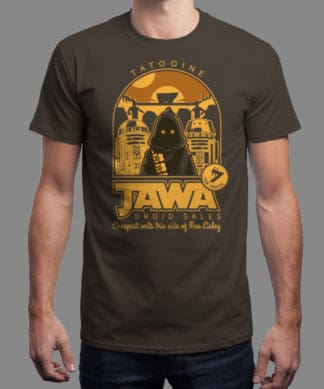 T-shirt Star Wars Jawa Droid Sale