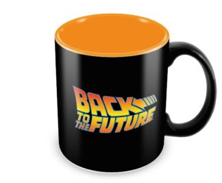 Back to the Future Logo Ceramic Mug