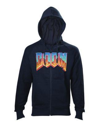 DOOM – Men's hoodie vintage logo