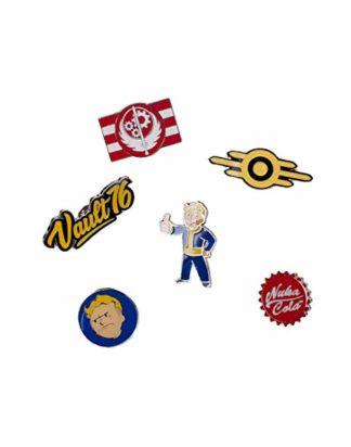 Fallout 76 – Set Of 6 Metal Pins