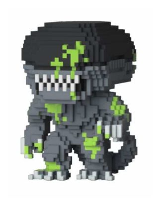 Funko Pop! Alien 8-Bit Horror Vinyl Figure Xenomorph (Bloody) Previews Exclusive 9 cm