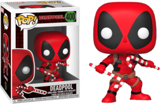 Funko Pop! Marvel Holiday Deadpool with Candy Canes