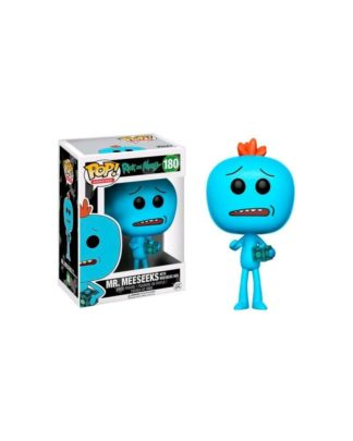 Funko Pop! Rick and Morty Animation Vinyl Figure Mr. Meeseeks with Box 9 cm