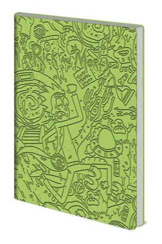 Rick & Morty Flexi-Cover Notebook A5 Portal Dash
