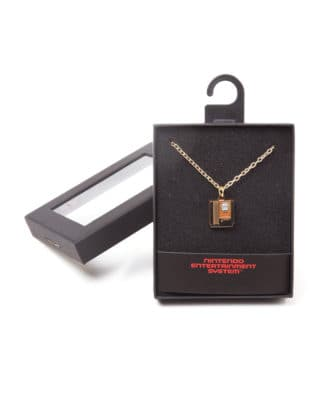 Zelda – Cartridge Necklace Goudkleurigaa