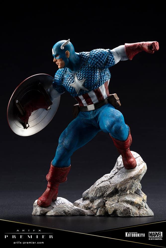 Captain America Marvel Order