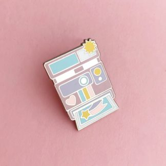 Pastel Camera – Enamel Pin