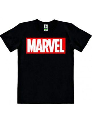 Marvel – Marvel Logo – T-Shirt Easy Fit – black